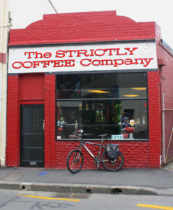 Stricktly coffee gevel NZ