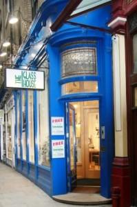 HP Londen Glass House Lekke ketel