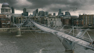 HP Londen Millennium Bridge film