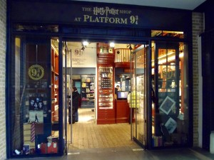 HP Londen Shop Platform 9 ¾ Kings Kross
